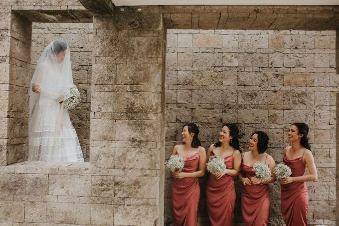 Chris & Calista Real Wedding at The Stone House by Tirtha by Tirtha Bali - 007