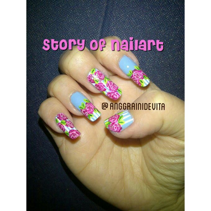 Painting Nails by Story of Nailart - 007