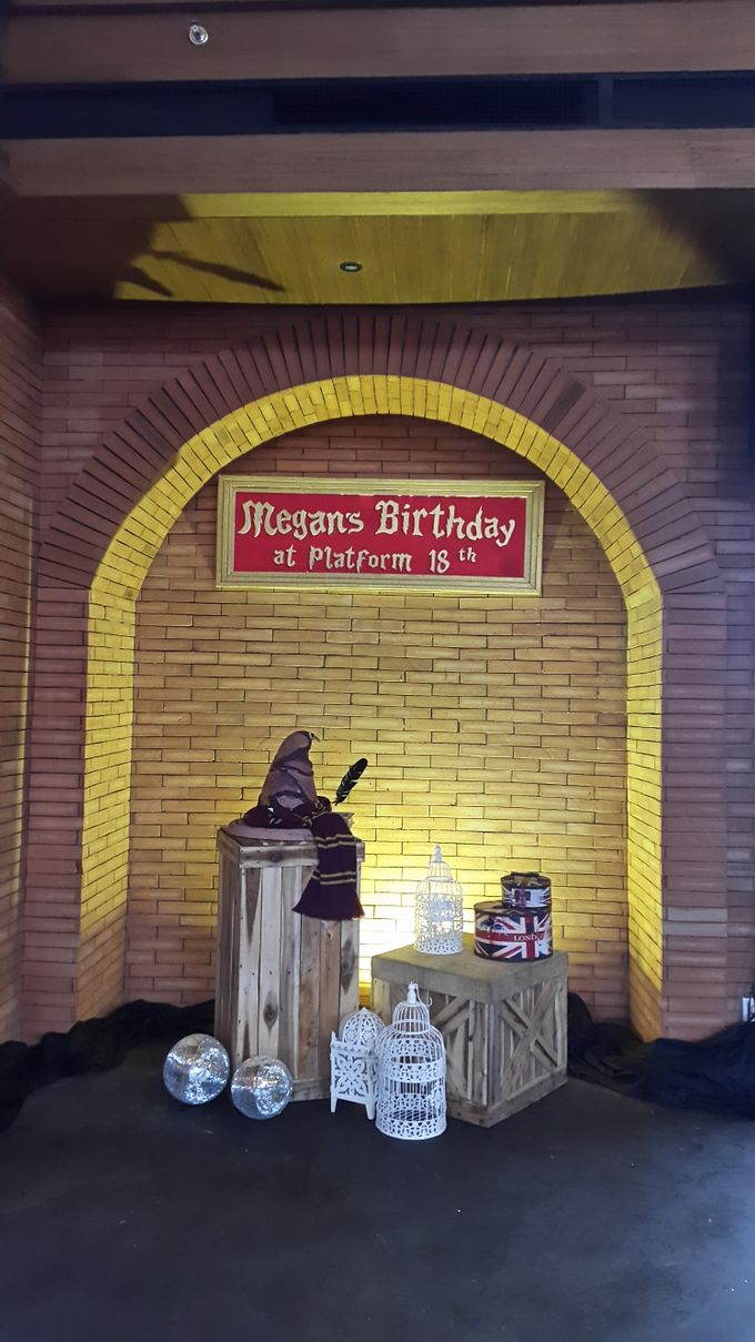 Harry Potter Theme For 18th Birthday by Evlin Decoration - 003