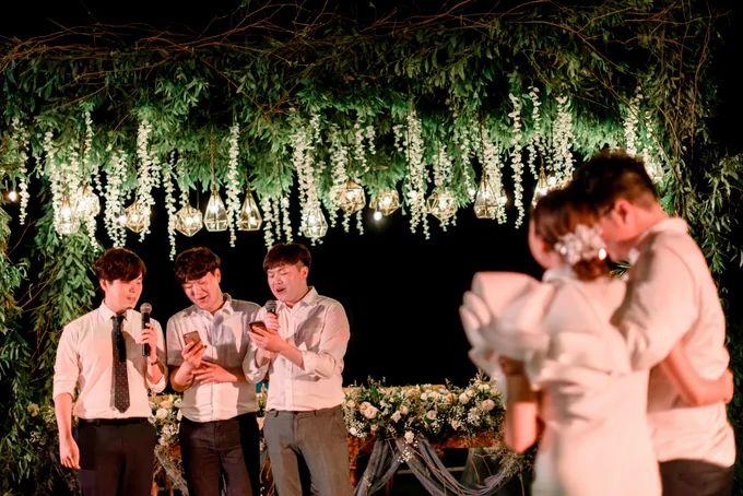 White Beauty Wedding theme by THE UNGASAN CLIFFTOP RESORT BALI - 007