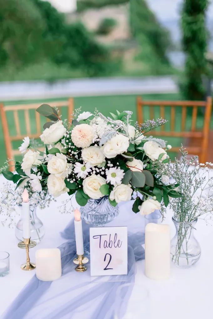 White Beauty Wedding theme by THE UNGASAN CLIFFTOP RESORT BALI - 008