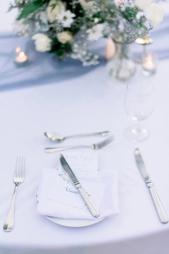White Beauty Wedding theme by THE UNGASAN CLIFFTOP RESORT BALI - 013