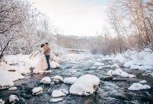 Snow River by FotoGolubeva
