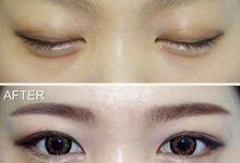 Semi-permanent makeup before & after by Lee Na Young Aesthetic & Academy (Semi-permanent makeup)