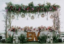 The Wedding Of Eko & Vania by Red Gardenia