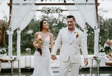 Pamela & Adam's Elopement Wedding in Ubud by Amora Bali Weddings