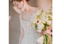 ELLIE Lace Spaghetti Strap Wedding Gown by dear gowns