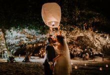 Tropical-themed wedding with Boho inspirations by Amora Bali Weddings