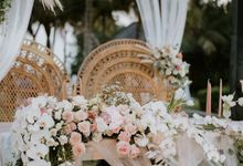 Wedding Kyomi & James by Bali Izatta Wedding Planner & Wedding Florist Decorator