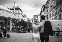 Paris Engagement Photoshoot  -  Fevrier Photography by Février Photography | Paris Photographer