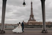 Gorgeous Christian Wedding at Paris France Temple by Février Photography | Paris Photographer