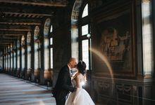 Exclusive Paris Pre Wedding Photo Shoot at Château de Fontainebleau by Février Photography | Paris Photographer