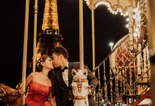 Paris Pre Wedding by Février Photography | Paris Photographer