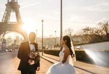 Exclusive Paris Pre Wedding Photo Shoot at Chateau de Fontainebleau by Février Photography | Paris Photographer