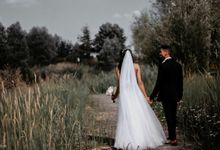 Beautiful Wedding In France - Fevrier Photography by Février Photography | Paris Photographer