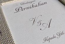 Vania & Aji Wedding Invitation by Mecraft Indonesia