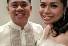Dianne Baetiong & Tyrone Magsalin Wedding by Magic Touch by Klick Victoria
