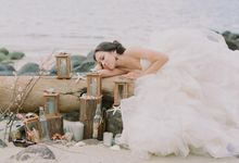 Bride by the Beach by Haute Makeup