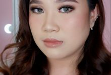 Bold Prewedding Style For Miss Nathania by Yuka Makeup Artist