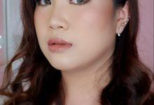 Bold Prewedding Style For Miss Nathania by Yuka Makeup Artist