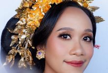Trial Balinese Bride for Miss Dina by Yuka Makeup Artist