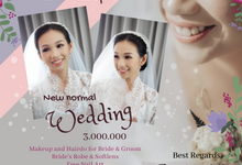 New Normal Wedding by Nike Makeup & Hairdo