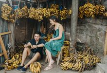 Fruit Market Couple Session of Alicia and Ryan by Terralogical