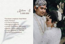 Pricelist WO by Kembang Peningset