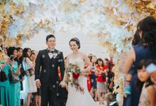 Isabella & Andri Wedding Highlight by Menara Mandiri (Ex. Plaza Bapindo) by IKK Wedding