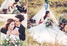 David & Arisa Prewedding at Ranca Upas dan Studio by GoFotoVideo