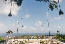 Renewal Vows of Mr & Mrs Joaquin by Alila Villas Uluwatu