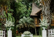 The Modest Tropical Nuptial of Eerang and Sean by Gaiasophy