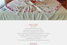 HOMECATION HONEYMOON PACKAGE with PRIVATE POOL by Hayujalan Tour & Event
