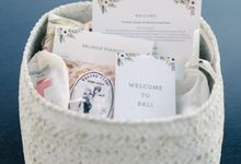 Rustic chic in Bali by The Wedding Company