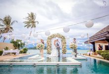 Destination Villa Wedding of Lauren and Luis by Unique Wedding and Events