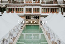 The Wedding of Qamar and Juju by Fern.co