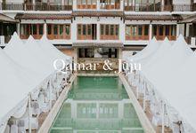 The Wedding of Qamar and Juju by Fern.co