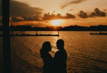 Golden hour - Rumilla and Joseph by Hong Ray Photography