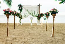 Wedding at Zen on Koh Phangan Thailand by Beach Weddings Koh Phangan