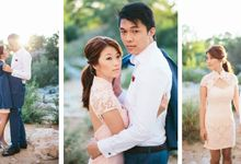French engagement shoot in Provençal lavender fields by M&J Photography