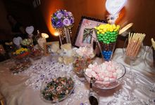The Purple Dream Wedding by Candy Buffet Singapore