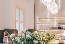 Wedding Reception at Como Cuisine by The Flowering Year