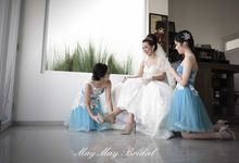 Marco & Andela Wedding Day by MAY MAY BRIDAL PHOTO