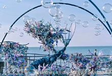 Mermaid Theme Of Ceremony Decoration by Bali Wedding Service