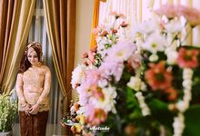 wedding of Irla & Taufan by UKETSUKEART