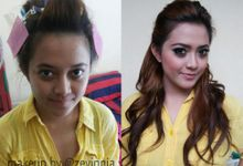 Before - After by Zevinnia Makeup Artist