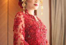 Wedding Reception Kebaya of Andita by Ronauli Liu