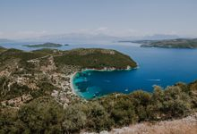 Glamorous destination beach wedding in Lefkada by Your Lefkada Wedding