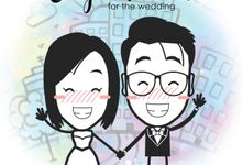 Wedding Animation of Stephen and Evi by The Hockey Pockey Animation