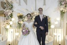 The Wedding of Nina & Franck at Ayana Midplaza by La Oficio Entertainment